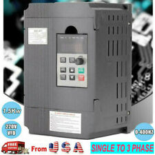 2hpsingle To 3 Phase Ac220v Variable Frequency Drive Vfd Inverter 15kw 0 400hz