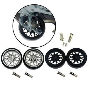 4PCS Upgrade 5mm Metal Combiner Wheel Hub Hex Adapter for WPL D12 1//10 RC Car