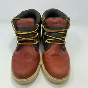 Timberland-Mens-Work-Safety-Boots-12900-Brown-Leather-Lace-Up-Waterproof-6-M