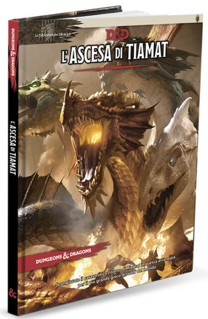 Dungeons&Dragons 5Ed-l'Ascesa di Tiamat - NUOVO SIGILLATO [GTAV1191]