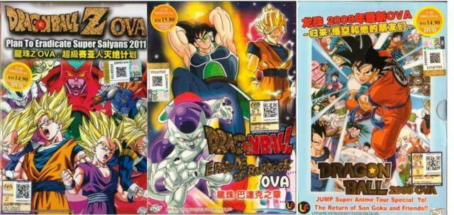 Dragon Ball 3 Movie Set Return Of Goku Episode Bardock Eradicate