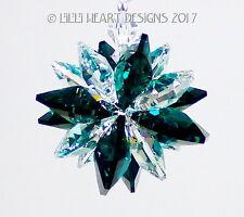 m/w Swarovski Crystal Emerald Green + Clear Mini SUPER STAR Lilli Heart Designs