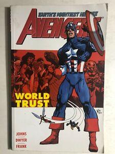 THE AVENGERS volume 1 World Trust (2003) Marvel Comics TPB 1st VG+
