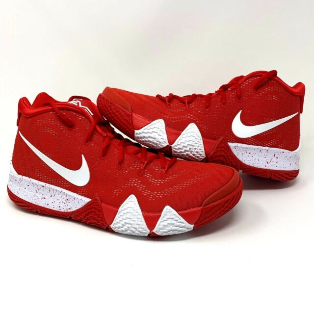 sale retailer 43c23 50a06 Nike Kyrie 4 TB Mens Av2296-600 University Red White Basketball Shoes Size 8