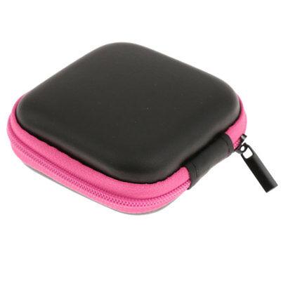 Mini boîte Cas Sac De Rangement Pochette Pour écouteurs Casque écouteurs | eBay