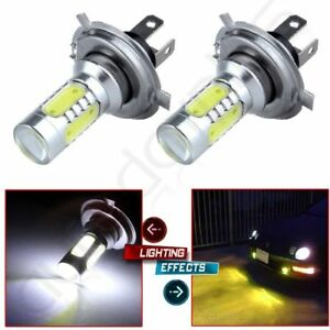 H4 HB2 9003 COB LED  Fog Light Hi//Low Car Motorcycle Headlight Lamp Bulb White