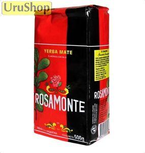 Y19 Yerba Mate Rosamonte W / Souches 500g Thé Mate Argentine-afficher Le Titre D'origine