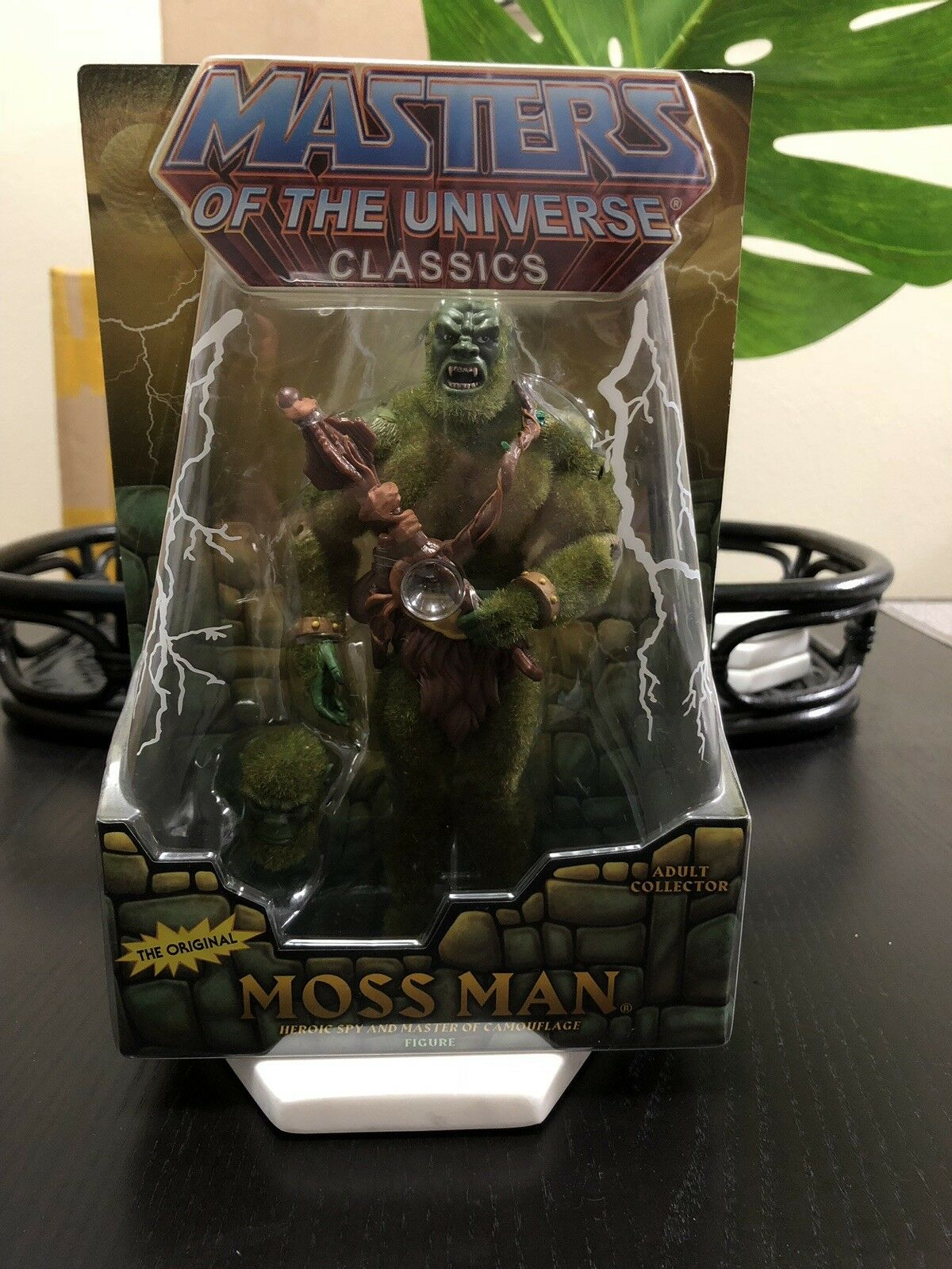 Mattel Masters of the the the Universe Classics Moss Man MOTUC He-Man MOSC 306940