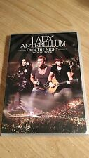 Lady Antebellum: Own the Night 2012 World Tour (DVD, 2012)  -- FAST SHIPPING