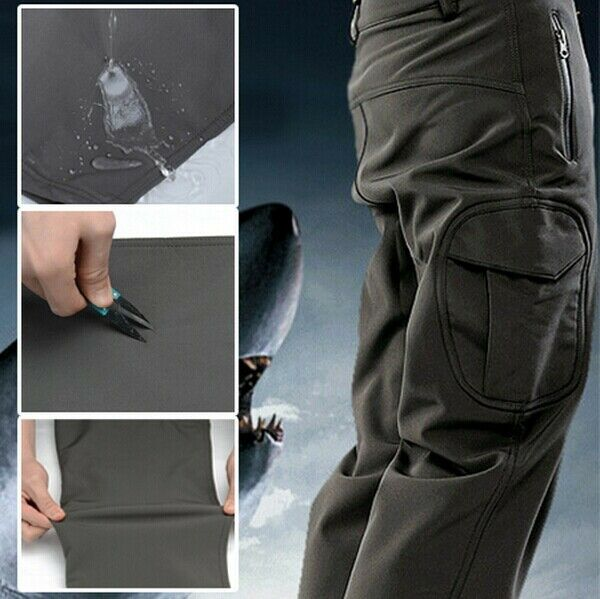 Outdoor  Lurker Shark skin Soft Shell TAD V 4.0 Camouflage Waterproof Mens Pants  classic fashion