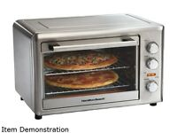 Hamilton Beach 31103a Stainless Steel Convection Oven/rotisserie on sale