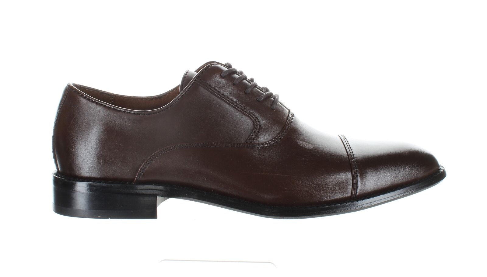 Kenneth Cole Mens Dice Lace Up Brown Oxford Dress Shoe Size 8 (1805053)