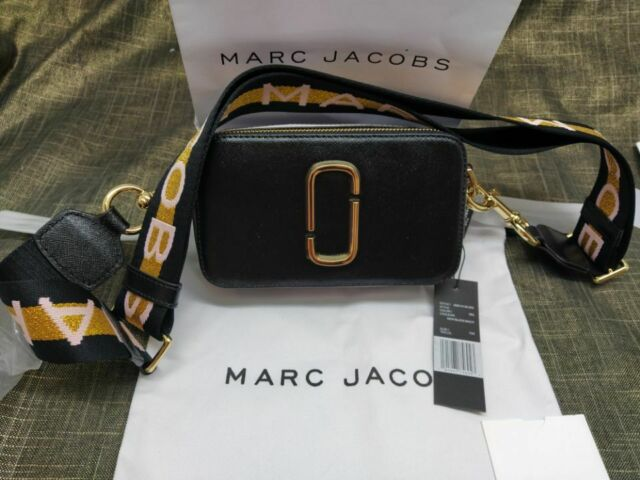 Genuine MARC JACOBS Snapshot Small Camera Bag  Rose MULTI hot sales