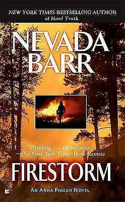 1 of 1 - Firestorm, Barr, Nevada, Good Condition Book, ISBN 9780425220382