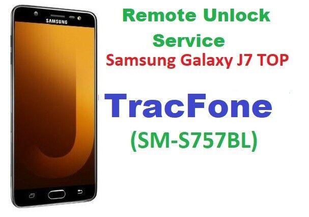 TracFone Remote Unlock Service For Samsung Galaxy J7 Crown SM-S757BL