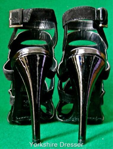 Nuovi gladiatore scamosciata pelle 7 Karen 8 nera Uk Millen 7 e in scarpe 5 sandali HHZwqr4