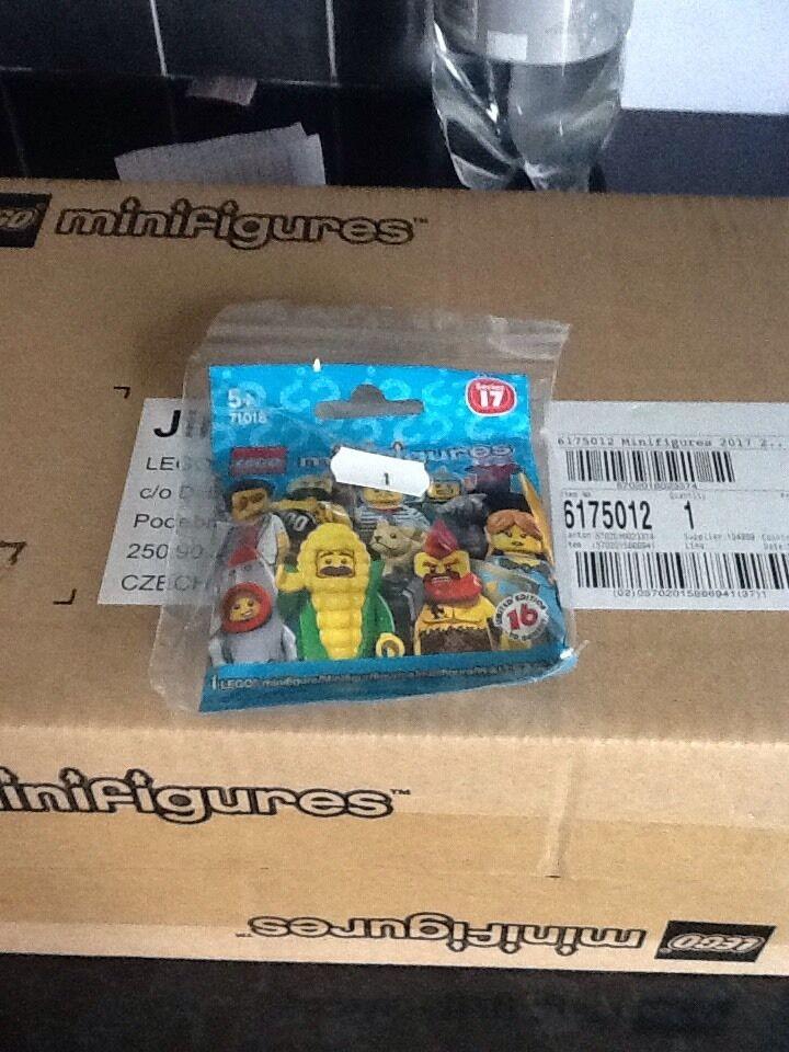 LEGO MINIFIGURES SERIE 17-completo scatola di 60-SIGILLATO IN CASO