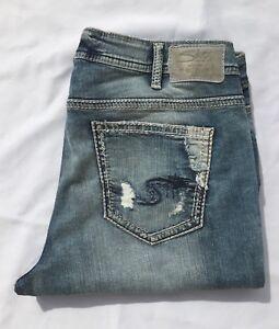 abfca78d NEW Silver Jeans Women's SUKI Capri MID RISE Regular/Plus Size ...