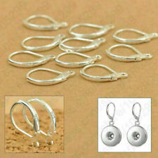 Sterling Silver 925 Leverback Earrings Hooks 18mm Jewellery findings