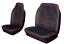 LDV MAXUS HEAVY DUTY WATERPROOF BLACK RED STRIPE VAN SEAT COVERS 2+1