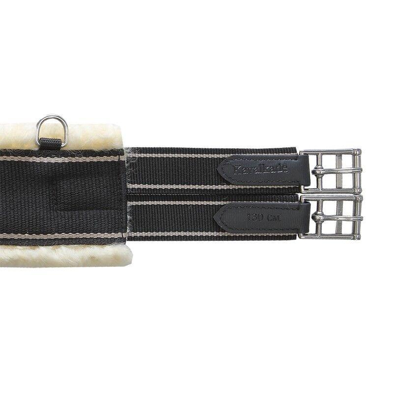 Kavalkade Textil - Sattelgurt Lammfellgurt Langgurt Lammfell Polsterung Sattelgurt - 14111 82c6c8