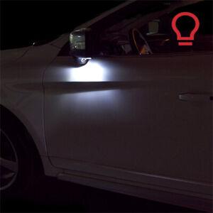 2-ampoules-a-LED-Blanc-lumiere-eclairage-retroviseurs-pour-BMW-X5-E53