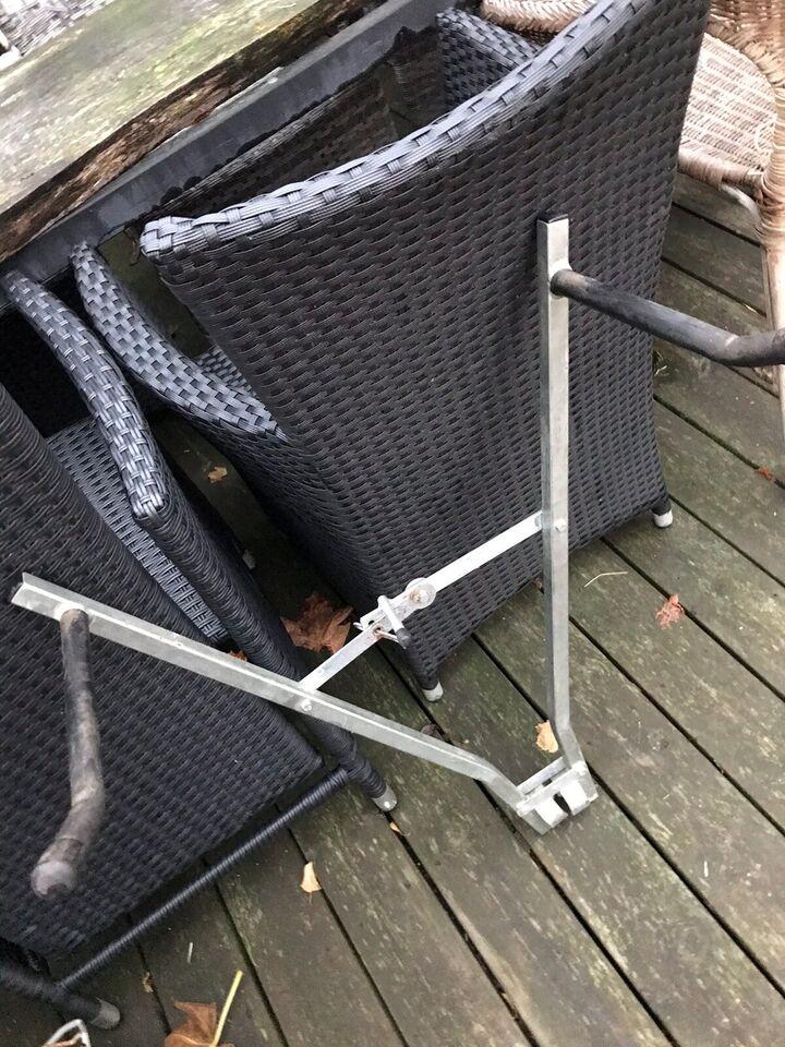 Cykelholder, Jern til trækkrog