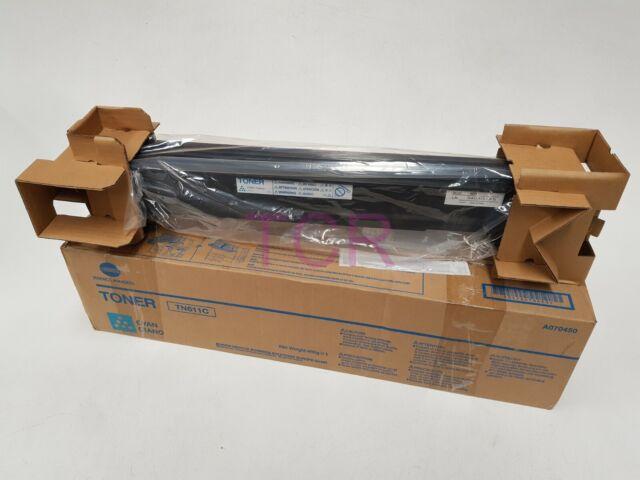Konica Minolta TN611C Cyan Toner Cartridge A070450 BizHub C451 C550