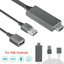 thumbnail 7 - 1080P HDMI Mirroring Cable 6Ft Phone to TV HDTV Adapter For iPhone iPad Android