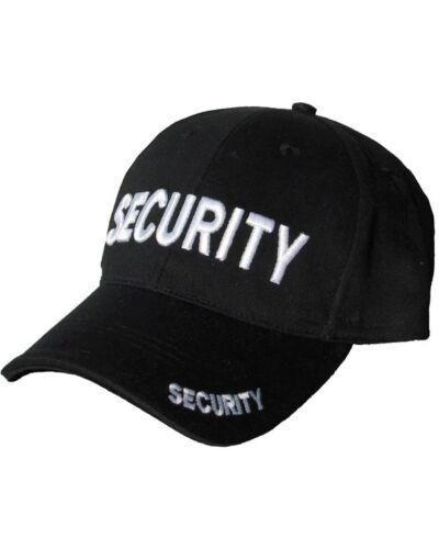 Mens Mlitary Combat Black SWAT FBI ARMY SECURITY Baseball Cap Hat Sun Visor New