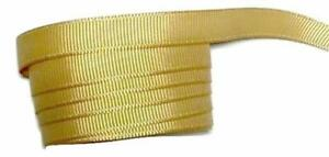 "3 yards Pale gold 1.5/"" grosgrain ribbon by the yard DIY hair bows"