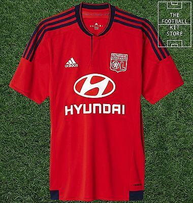 834d68812 Lyon Away Shirt - Official adidas Olympique Lyonnais Football Jersey - All  Sizes