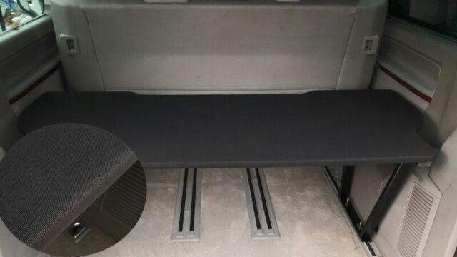 Vw t5 & t6 Multivan Multiflexboard Rallonge Armoire H: 53 cm Uni Noir 2