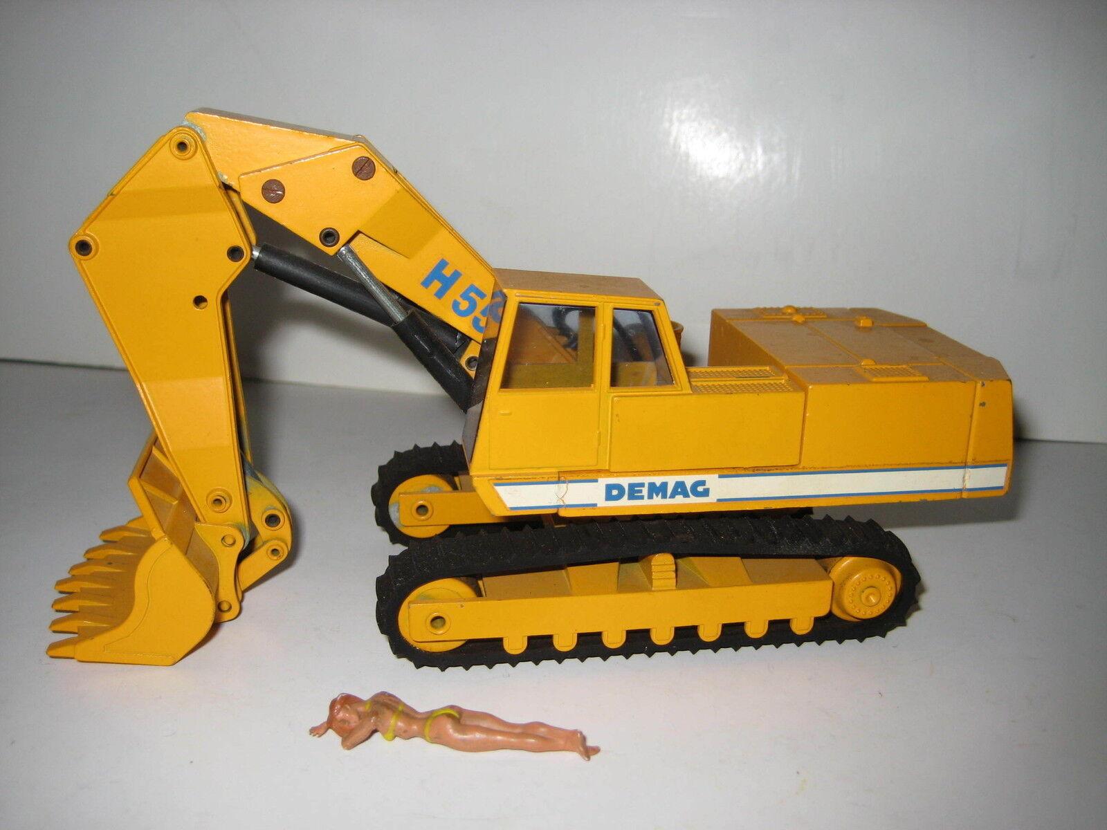 DEMAG H 55 55 55 Excavateurs hochlöffel vers à soie #113.6 NZG 1:50 | Terrific Value  d54e5c