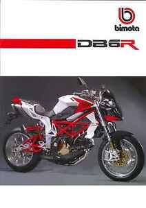 Brochure originale Bimota DB6 DELIRIO R