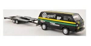 "VW T3a Transporter ""VW Sport - BP"" with Trailer (PC 1:43 / 11410)"