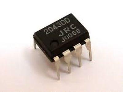 2x NJM5532DD HIGH PERFORMANCE LOW-NOISE AMPLIFIER 5532DD JRC5532 JRC