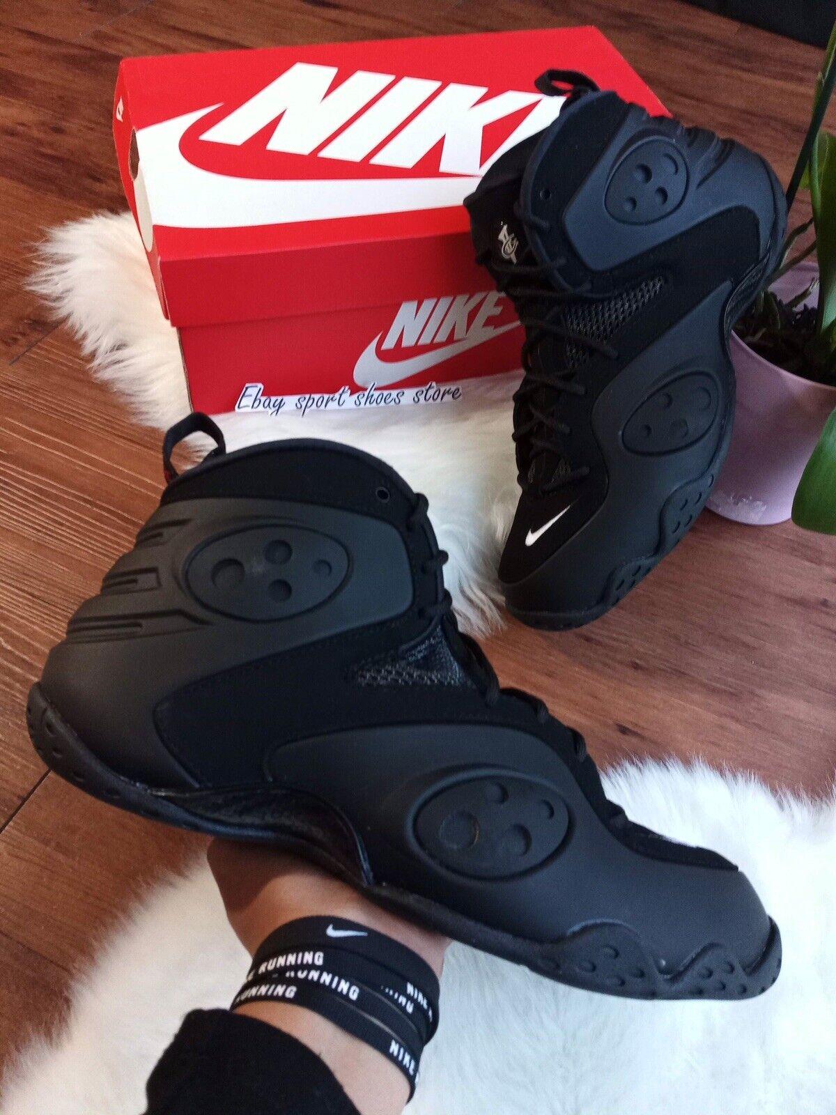Para hombre NIKE ZOOM ROOKIE Negro BQ3379 002 Informales Zapatos de baloncesto