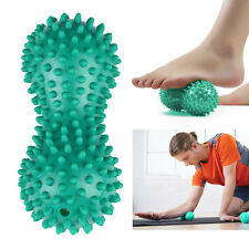 Peanut Shape Spiky Massage Ball Foot Trigger Therapy Stress Relief Massager