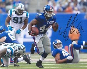 Ahmad Bradshaw New York Giants Hand Signed 8x10 Autographed Photo W/COA Proof