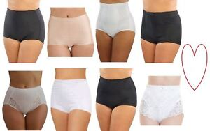 b56393d7a382 Image is loading Ladies-control-briefs-girdle-pants-underwear-support-womens