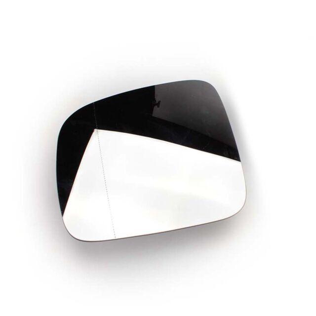 Left Door Side Clip on Heated Power Mirror Glass for VW Transporter Caravelle T5