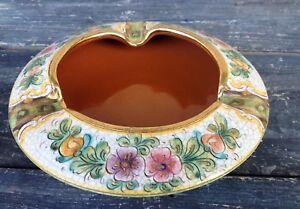 Deruta italy crackle finish ceramiche artistiche gialetti giulio