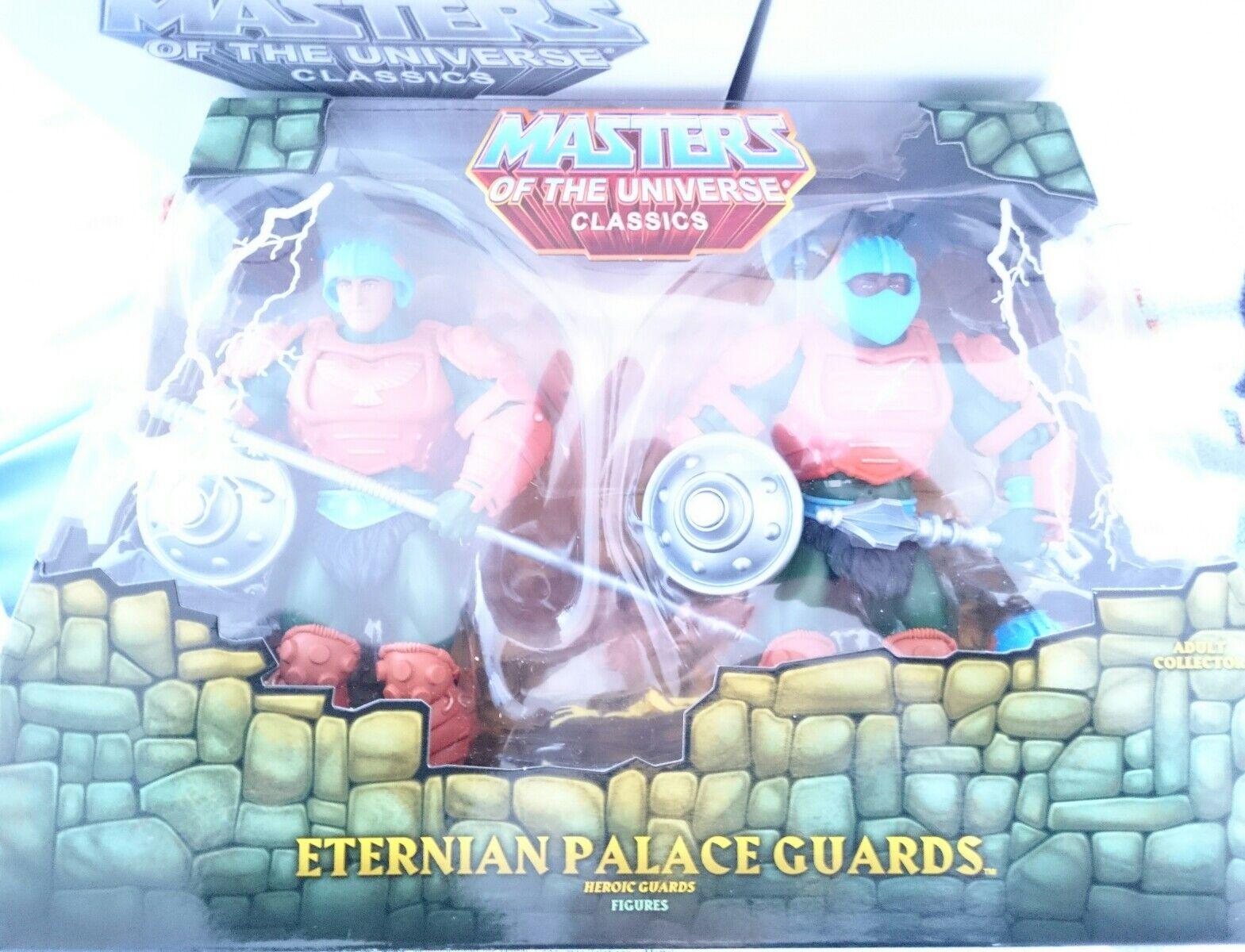 ETERNIAN PALACE GUARDS Masters of the Universe CLASSICS MOTU HE-MAN NEW & BOXED