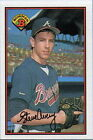 1989 Bowman Steve Avery #268 Baseball Card