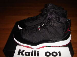 71b3481bf35e87 Nike Air Jordan 11 Retro (PS) Bred Space Jam Cool Grey Concord ...