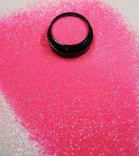 3ml Glitter 0,2mm, Babyrosa, Glitterstaub, Puder in Acryl Dose, Nr. 801-016-a