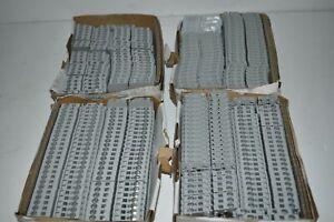 ^^ ALLEN BRADLEY 1492-L4 TERMINAL BLOCKS - LOT OF 200 - NEW (SX73)