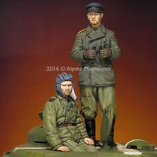 ALPINE MINIATURES 35216 WWII Russian Tank Crew Set (2 Figuren) in 1:35