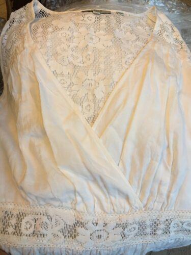 Vestito Taglia Lace back Guess Bianco M qnSYpEx